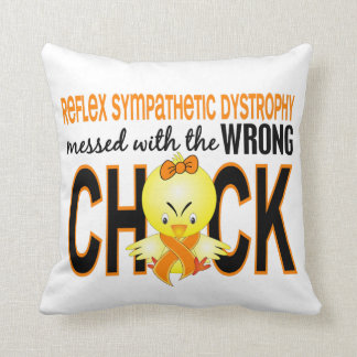 RSD Messed With Wrong Chick Throw Pillow