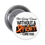 RSD Not Going Down Without a Fight 2 Inch Round Button