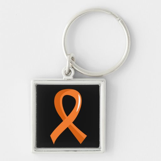 RSD Orange Ribbon 3 Key Chains