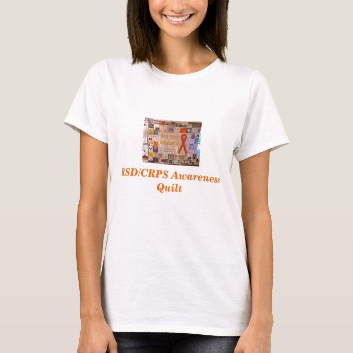 RSD Quilt1, RSD/CRPS Awareness Quilt T-Shirt