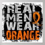 RSD Real Men Wear Orange Poster