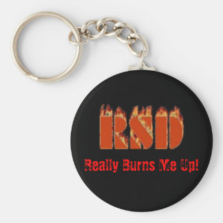 RSD, Really Burns Me Up! Keychain