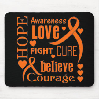 RSD Slogans Hope Words Collage Mouse Pad