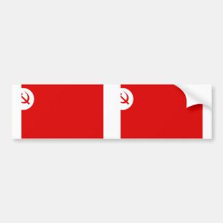 Rsp, bandera de la India Pegatina Para Auto