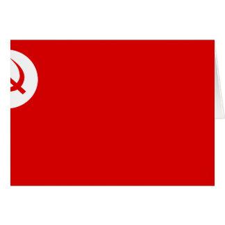 Rsp, bandera de la India Tarjeta De Felicitación