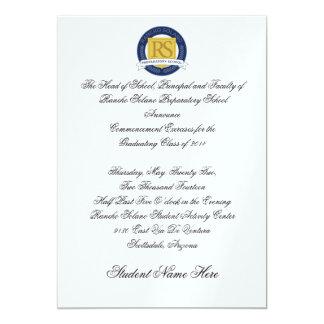 RSPS Graduation Announcement- Formal Card