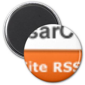 RSS-botón Imán Redondo 5 Cm