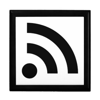 RSS Feed Icon Jewelry Box