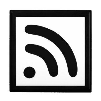 RSS Feed Icon Trinket Box