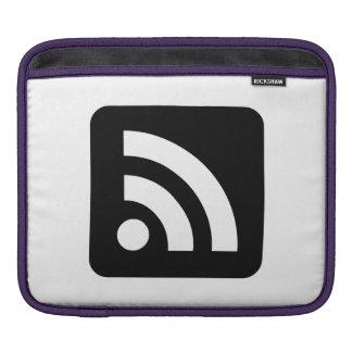 RSS Feed Icon iPad Sleeves