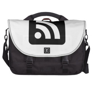 RSS Feed Icon Laptop Bag