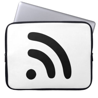 RSS Feed Icon Laptop Sleeves