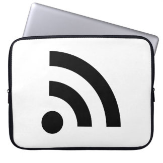 RSS Feed Icon Computer Sleeve
