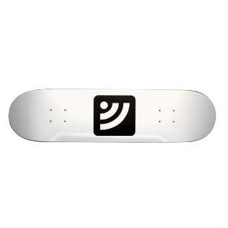 RSS Feed Icon Skateboard