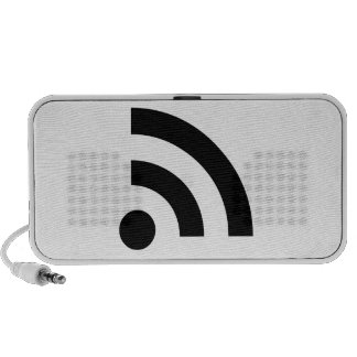 RSS Feed Icon Mp3 Speaker
