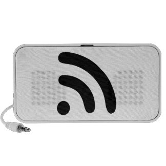 RSS Feed Icon Mini Speakers