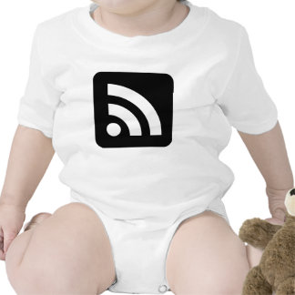 RSS Feed Icon Baby Bodysuit