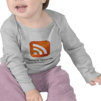 RSS Geek In Training Infant Long Sleeve Tshirt