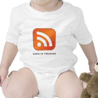 RSS Geek In Training Infant Tees
