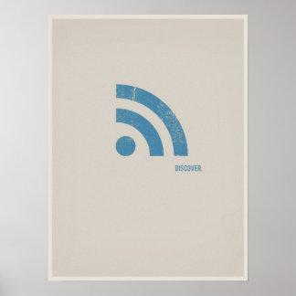 RSS minimalistic poster