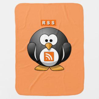 RSS Penguin Orang Background Stroller Blankets