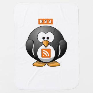 RSS Penguin Receiving Blankets