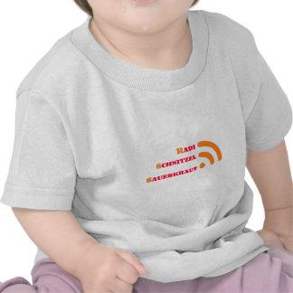 RSS Radi shred sauerkraut T-shirt