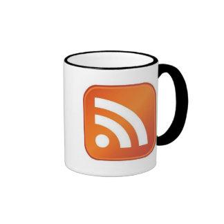 RSS Ringer Black Mug 11oz