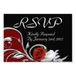 RSVP 3.5X5 PAPER INVITATION CARD
