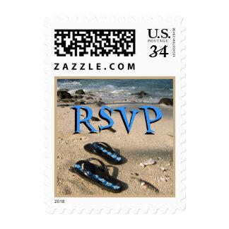 RSVP Beach Flip Flop Sandals Postage
