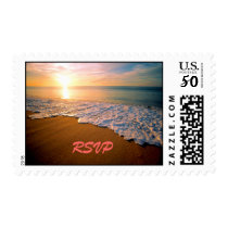 RSVP Beach Wedding Postage