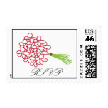 RSVP Bridal Bouquet Stamps