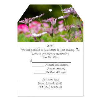 RSVP Bridal Shower Blossoms Party Friends Guests Card