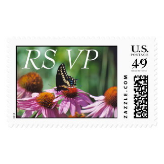 RSVP Butterfly Stamp