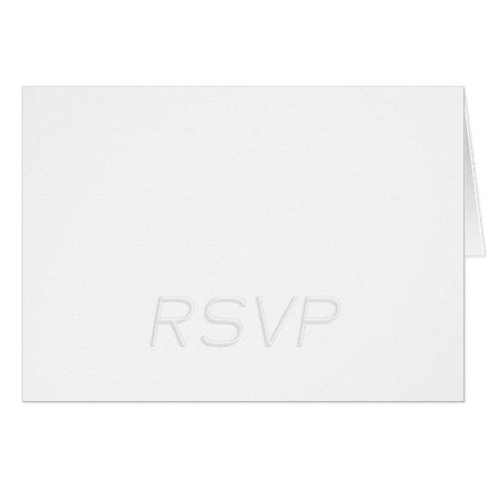RSVP card front