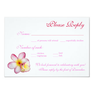 RSVP card Personalized Invitations