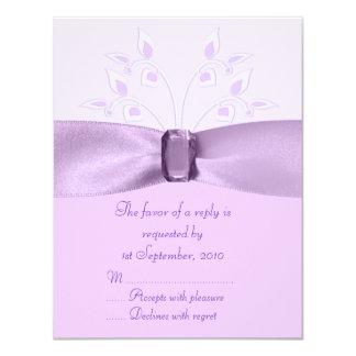 RSVP Card Lavender Lane