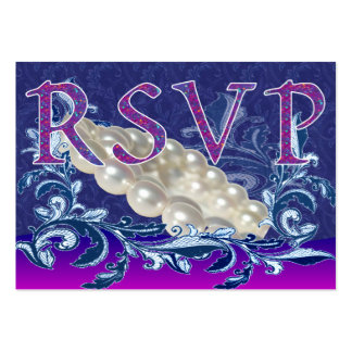 RSVP Cards Business Card Template