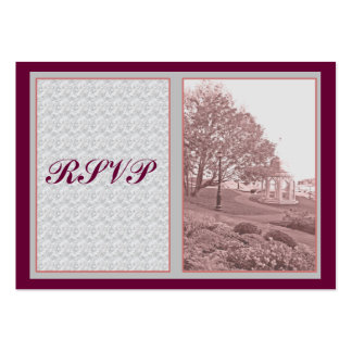 RSVP Cards Large Business Cards (Pack Of 100)