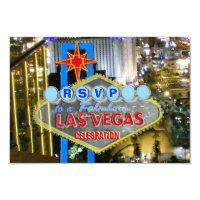 RSVP cards Las Vegas Special Event
