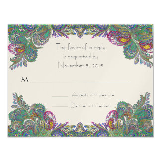 RSVP Cards-Require the 5 x 7 size Inivitations Card