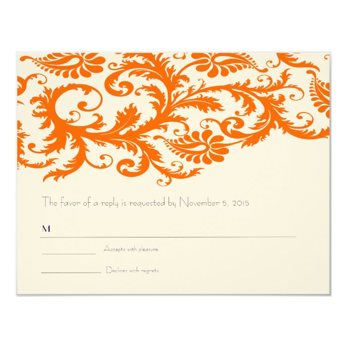 size of rsvp card
