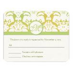 """RSVP Cards-Require the 5 x 7 size Inivitations 4.25"""" X 5.5"""" Invitation Card"""