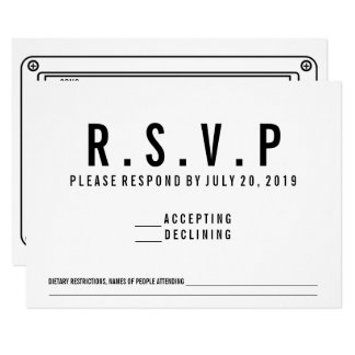 RSVP Cassette Song Request Invite
