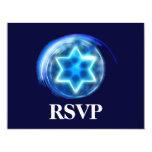 RSVP cercado estrella Invitación 10,8 X 13,9 Cm