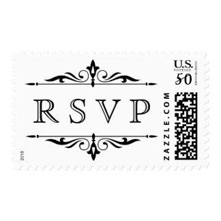 RSVP Classic Postage Stamp