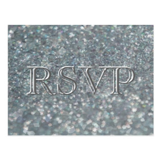 RSVP | Crushed Pearls Postcard