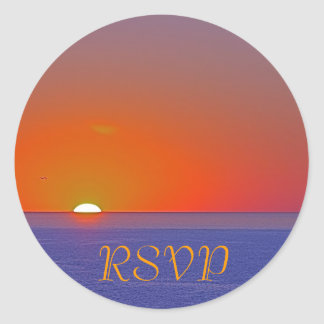 RSVP Custom Invitation Sticker