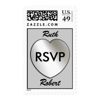 RSVP Custom Postage Stamps