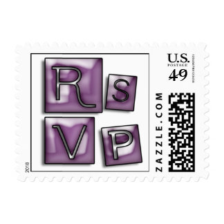 RSVP de moda en los bloques de cristal del ciruelo Envio
